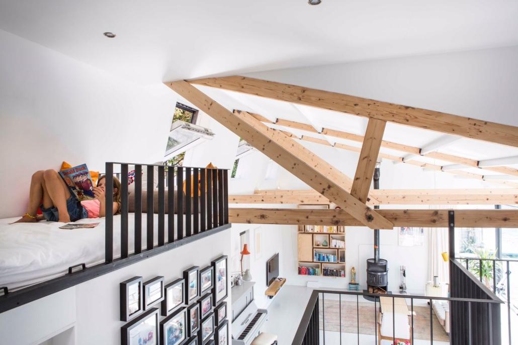 Extra ruimte als je het plafond verwijdert