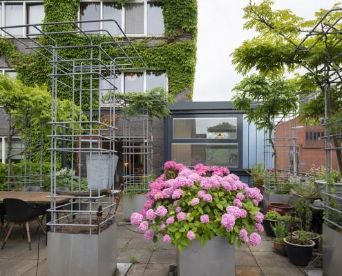 aanbouw Kop van Zuid Rotterdam