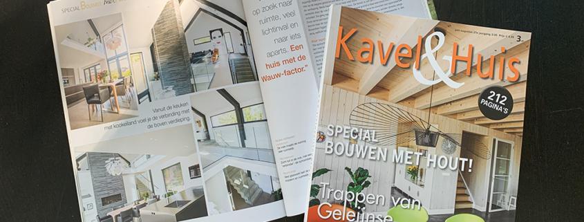 de juni editie van Kavel&Huis is uit