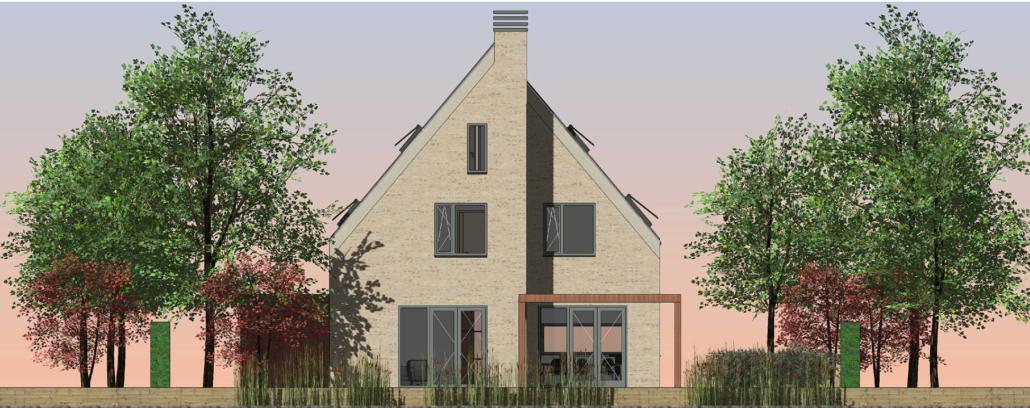 Nieuwbouw villa Park van Buijsen