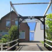 3D impressie uitbreiding woonhuis