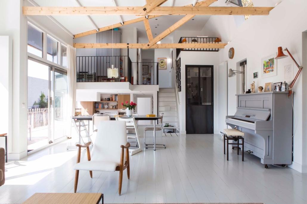 Wonen Op Woonboot : Verbouwing woonboot amsterdam architect go