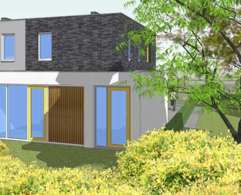 Compacte woning met vergunningsvrije uitbouw